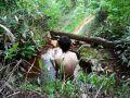 新得町湯の滝 上部露天風呂