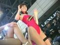 【パチ物】オートサロンの赤いハイレグキャンギャル(1)【丸ごと1本】